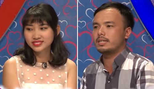 Ngọc Định và cô gái Kim Tuyến được chương trình kết nối để hẹn hò.