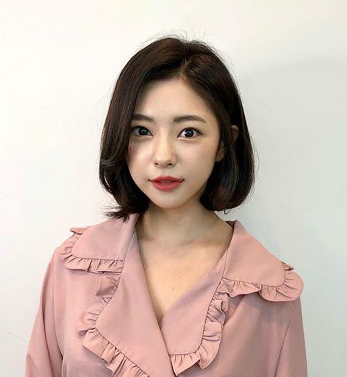 Tóc chữ C - mốt tóc nhận diện các cô gái Hàn sành điệu - 1