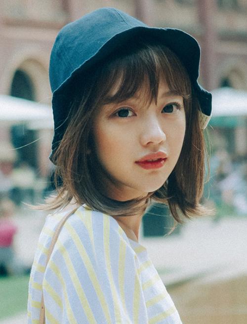 Tóc chữ C - mốt tóc nhận diện các cô gái Hàn sành điệu - 2