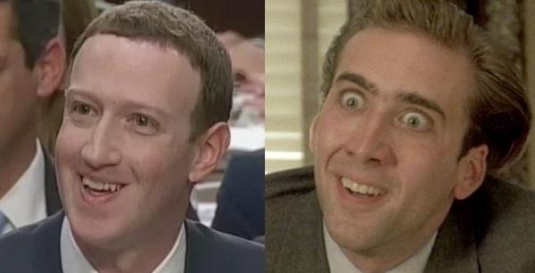 50 sắc thái của ông trùm Facebook.