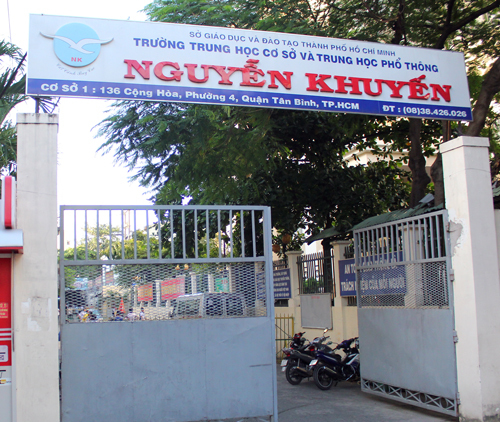 Trường THCS - THPT Nguyễn Khuyến TP HCM