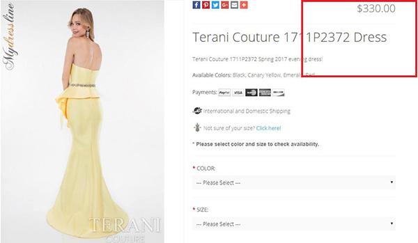 Hoa hậu Đại dương bức xúc vì váy hiệu mua ở Mỹ bị chê sến sẩm - 3
