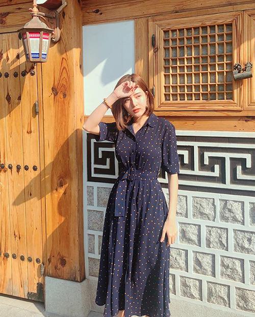 Lilly Luta nữ tính trong nắng ấm Hàn Quốc.
