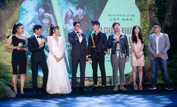 Dàn sao chúc mừng Lý Hải - Minh Hà ra mắt phim Lật mặt 3