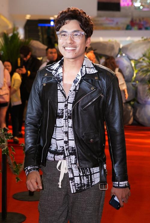 Diễn viên Kiều Minh Tuấn với style