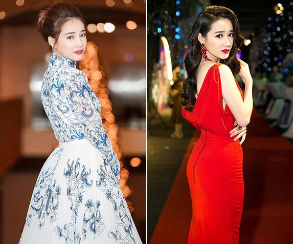 Kể cả khi không diện váy hở lưng thì Nhã Phương vẫn ưa chuộng dáng pose style Ngọc Trinh.