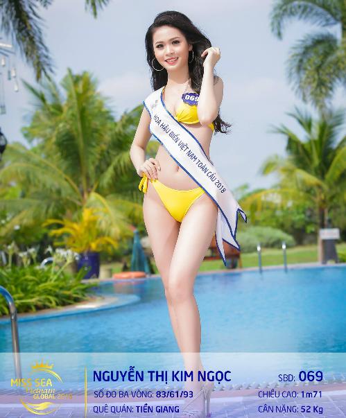 Thí sinh Nguyễn Thị Kim Ngọc.