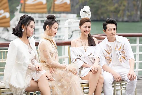 Nữ diễn viên 9x xinh đẹp, kiêu sa bên cạnh những đàn anh đàn chị như Phạm Quỳnh Anh, Đông Nhi, Ông Cao Thắng.