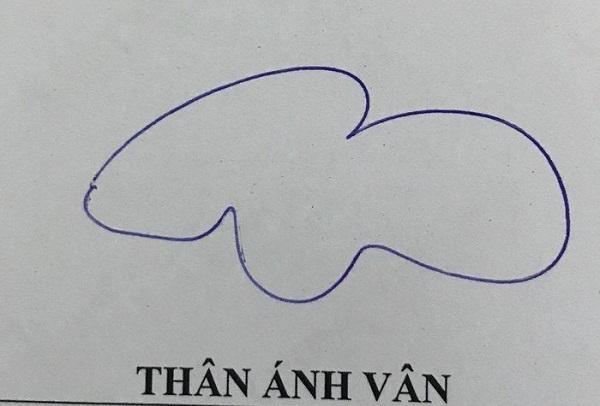 Chữ ký lãng mạn, bay bổng như cái tên vậy.