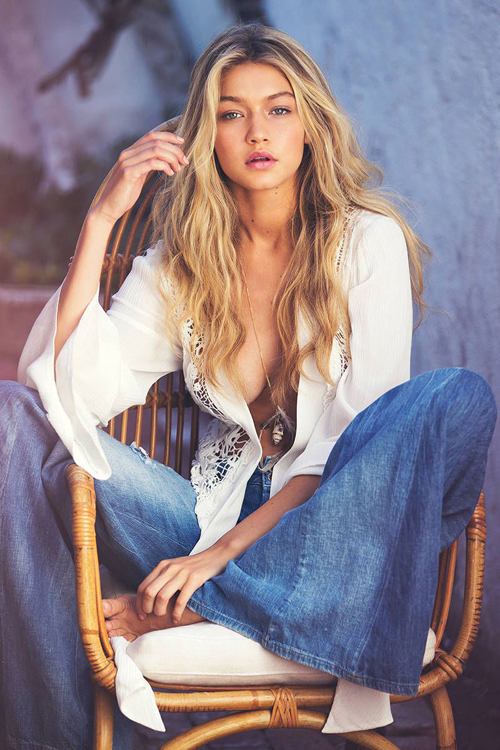 Nhan sắc của Gigi được ví với thiên thần, trong khi đó hình thể của cô lại vô cùng nóng bỏng. Người đẹp sở hữu chiều cao 1,78 m, số đo ba vòng86-64-89. Trước khi hoạt động người mẫu chuyên nghiệp, Gigi từng làm người mẫu cho Guess từ năm 2 tuổi. Năm 2015, chân dài giành được danh hiệu Người mẫu của năm.