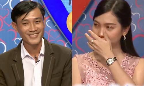 Minh Thành nhiều lần chia sẻ khiến Kim Cương trào nước mắt vì xúc động.