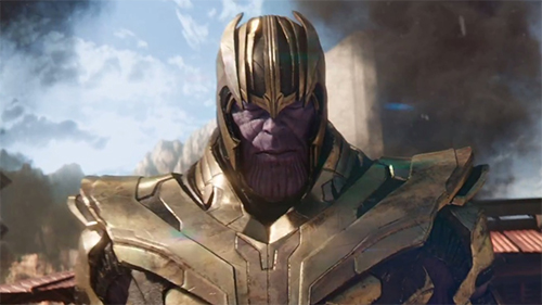 Thanos được biết đến là nhân vật phản diện cực mạnhtrong các phim Marvel.