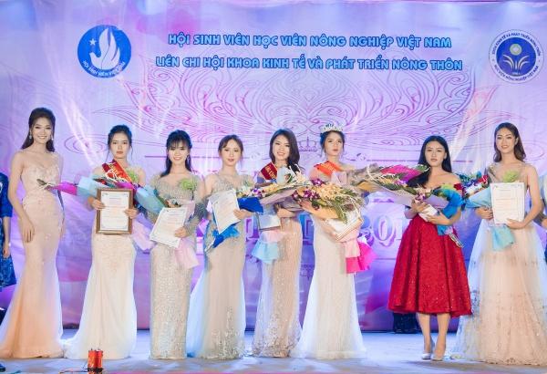 Ngọc Nữ góp phần tìm nên ngôi vị chiếc vương miện Hoa khôi dành cho thí sinh Lê Thị Bích  nữ sinh đến từ lớp K61KTPT. Á khôi 1 thuộc về Hà Ngân Hồng của lớp K60KTNNA, Á khôi 2 là Đỗ Thị Huệ của lớp K60PTNTA.