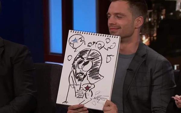 Khi dàn sao siêu anh hùng vẽ tranh tự hoạ - 6