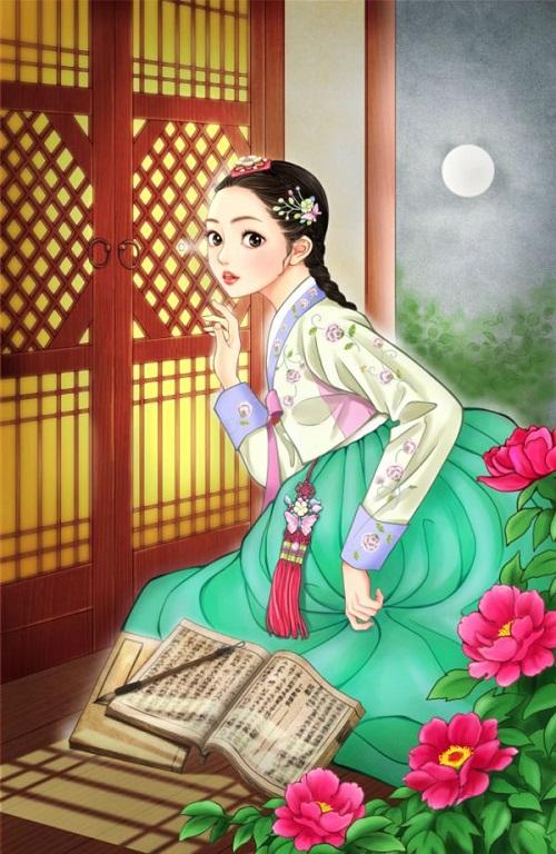 12 sao nữ khi mặc trang phục Hanbok truyền thống của Hàn - 1