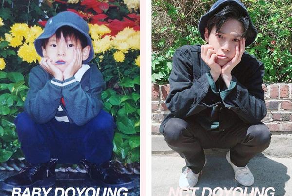 Muốn biết tương lai có trở thành idol hay không, phải xem từ nhỏ bạn có cách tạo dáng cool ngầu, biểu cảm lạnh lùng được như Do Young hay không.