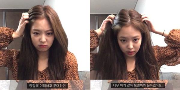 Tuy nhiên hy vọng các fan đã bị dập tắt khi Jennie tuyên bố không thích kiểu tóc này. Tất cả cũng chỉ vì nữ ca sĩ sở hữu má bánh bao đáng yêu. Jennie nói: Mình nghĩ lên sân khấu với kiểu tóc 2 bên trông cứ như một đứa trẻ, mình không thể làm vậy. Black Pink đi theo concept các cô gái cá tính, cool ngầu nên Jennie cũng lựa chọn kiểu tóc cho phù hợp.