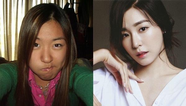 Tiffany là minh chứng vịt hóa thiên nga dưới bàn tay công ty SM. Sau khi rời SM, Tiffany và Jessica đều bị cho là kém sắc hơn so với thời có công ty chăm chút.