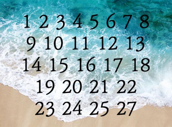 Chỉ 5 giây, bạn có thể tìm ra con số còn thiếu? - 5