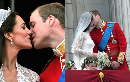 Hoàng tử William và Kate Middleton hạnh phúc trong ngày cưới với lời chúc phúc của dân chúng Anh.