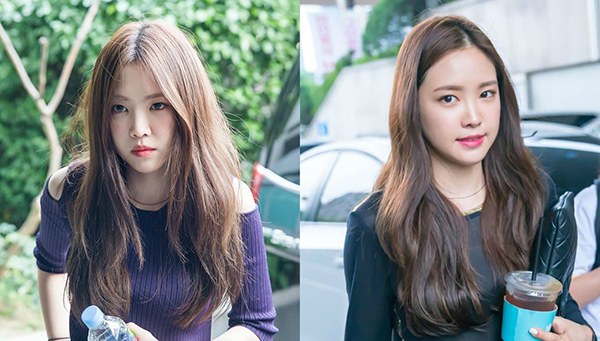 Không phải lúc nào mái tóc của Na Eun (Apink) cũng sóng sánh như trong quảng cáo dầu gội đầu. Thực tế nếu không có bàn tay của các chuyên gia, tóc của cô cũng khô xơ chẳng khác gì các cô gái bình thường.