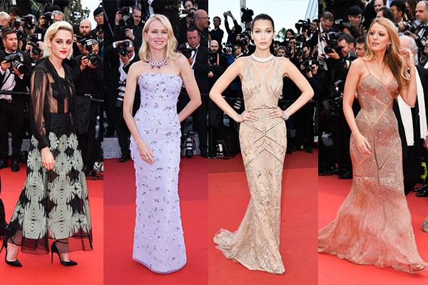 Những khách mời nữ đến tham dự LHP Cannes thường được khuyến khích diện những bộ đầm dài tha thướt, chấm đất để tăng hiệu quả thẩm mỹ khi lên thảm đỏ. Bên cạnh đó, họ bắt buộc phải đi giày cao gót để thể hiện vẻ đẹp nữ tính và sang trọng. Hồi năm 2015, LHP này từng gây tranh cãi khi mời một nhóm khách ra về, không cho vào khán phòng chỉ vì họ đi giày bệt.