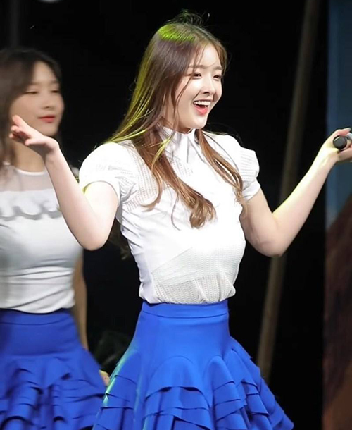 Những idol Hàn mất mặt vì sự cố tuột nội y trên sân khấu - 1