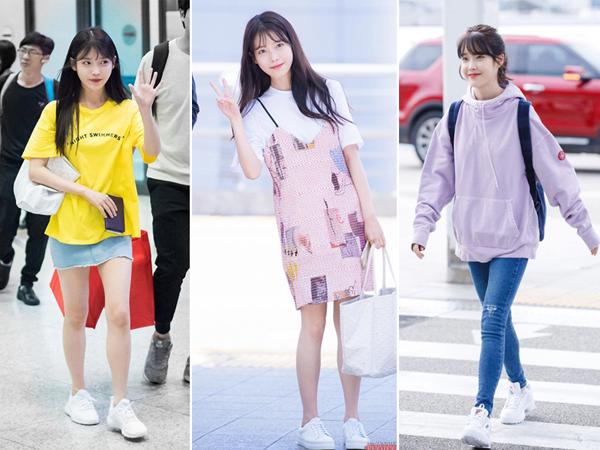 Dáng áo oversize là item giúp nữ idol nói điêu tuổi một cách thành công mà không cần trang điểm hay ăn mặc cầu kì.