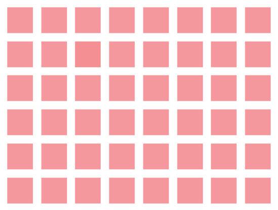 Độ khó tăng dần bạn có phân biệt được những màu này? - 5