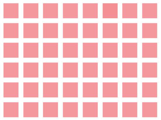 Độ khó tăng dần bạn có phân biệt được những màu này? - 6