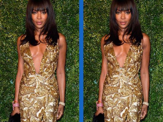 Tìm điểm khác biệt khó nhằn của người mẫuNaomi Campbell