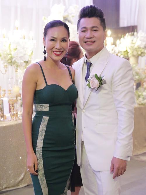 Ca sĩ Khánh Ngọc là bạn bè thân thiết của Lâm Vũ.