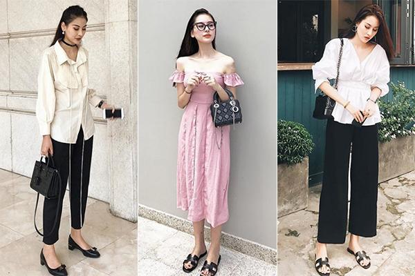Người đẹp Hà thành sở hữu bộ sưu tập túi xách cả trăm chiếc, đến từ những thương hiệu đắt giá nhất như Chanel, Dior, Louis Vuitton...