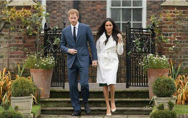 Meghan và Harry sẽ tổ chức đám cưới vào tối 19/5.