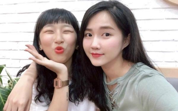 Hot teen Trang Hývà Kiều Trinh có tình bạnthân thiết.