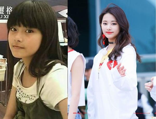 Diện mạo dễ thương như cô bé nhà hàng xóm của Tzuyu được JYP nâng cấp thành nữ thần Kpop.
