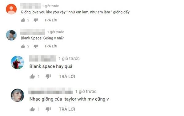 Nhiều bình luận nhận xét về MV của Min và Taylor Swift.