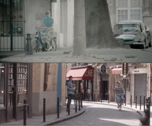 Những hình ảnh giữa hai MV bị soi có nhiều điểm tương đồng.