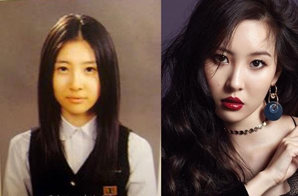 Sun Mi biến hóa từ một nữ sinh xinh xắn thành mỹ nhân quyến rũ hàng đầu Kpop.
