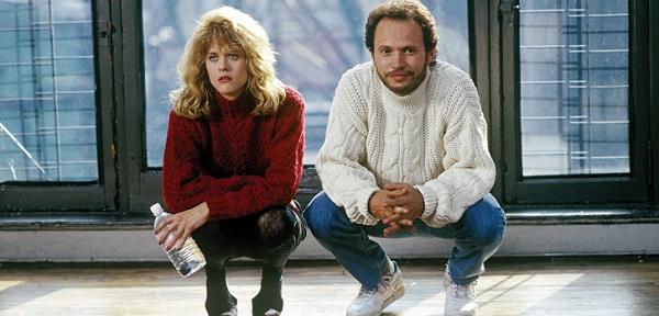 Meg Ryan và Billy Crystal trong phim.