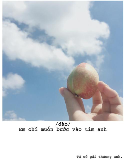 Bộ ảnh thả thính bằng trái cây cực yêu của 9X Sài thành - 9