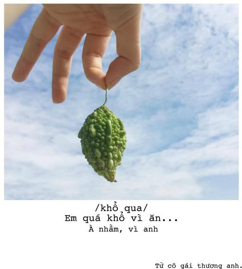 Bộ ảnh thả thính bằng trái cây cực yêu của 9X Sài thành - 4