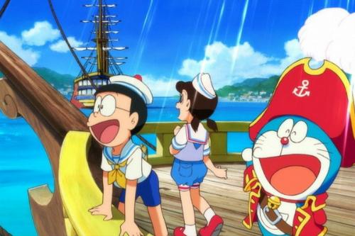 Phim hoạt hình Doraemon tặng quà cho độc giả iOne