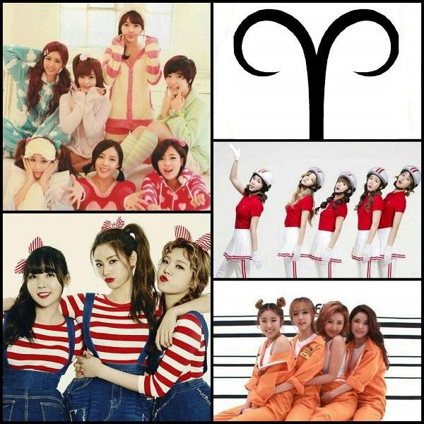 12 chòm sao đại diện cho hình tượng âm nhạc nào của các girlgroup Kpop?