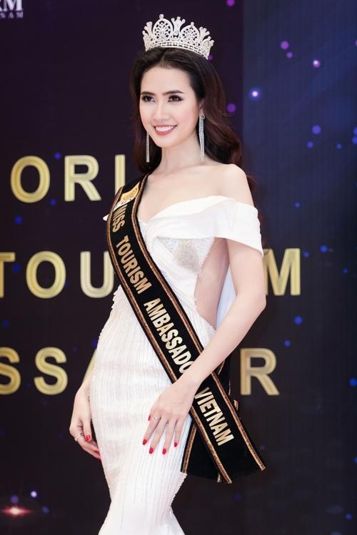 Phan Thi Mơ dự thi Hoa hậu Đại sứ Du lịch Thế giới 2018 - 5