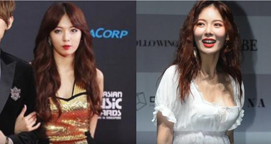 Hyun Ah theo đuổi hình tượng khoe thân, gợi cảm trên sân khấu.