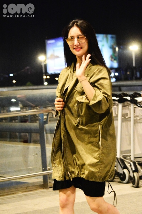 Trở về trong chuyến bay lần này còn có nữ diễn viên Son Ji Hyun.