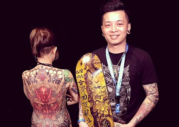 Quán quân Taiwan Tattoo: Tôi không bao giờ xăm hình cho trẻ vị thành niên