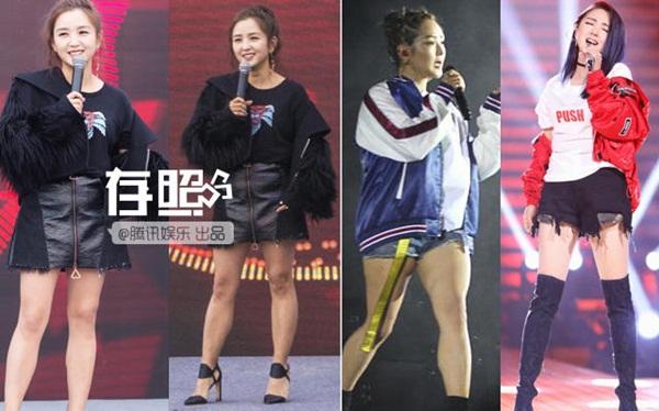 Đôi chân bị chê khúc nào ra khúc nấy của nữ ca sĩ Hà Khiết trông đẹp hơn gấp nhiều lần sau chỉnh sửa.