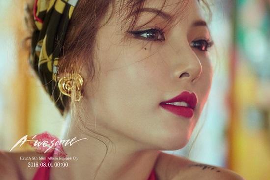 Bạn biết gì về nữ idol gợi cảm Hyun Ah? - 1